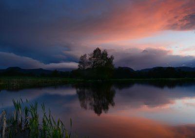 Brahan Pond Sunset