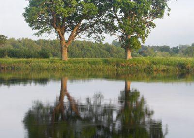 River Conon Running Through The Estate